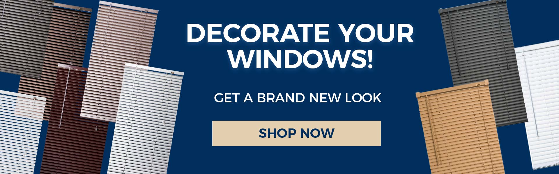 Finishing Touches - Decorate Your Windows!